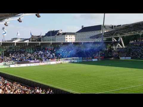 HJK - HIFK (Helsinki Derby) Pre Match Tifo 31.07.2017