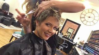 Detailed Hair Cut with My Stylist: Find Out Exactly How She Cuts My Longer Spikey Pixie
