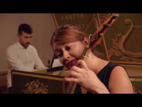Antoine Forqueray. Suite II - La Leclair - très Vivement et d'etaché. Lina Manrique