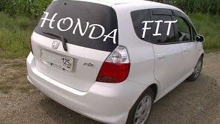 Обзор Honda Fit 2007г