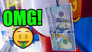 ARCADE GAME w/ REAL MONEY!!! - Is This Even Legal?
