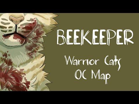 (Blood/death tw) Beekeeper Warrior Cats OC MAP
