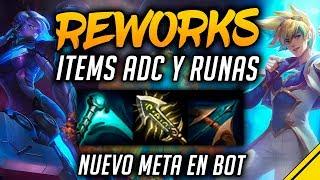 EL NUEVO FILO INFINITO y MÁS ITEMS ADC y RUNAS ¿OP o NERF? | Noticias League Of Legends LoL