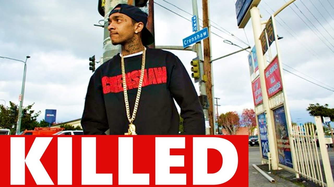 Nipsey Hustle 33, Shot Dead In Front Of His Store   Plans For Dr. Sebi Documentary