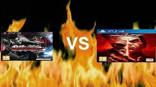 Tekken Tag Tournament 2 vs Tekken 7