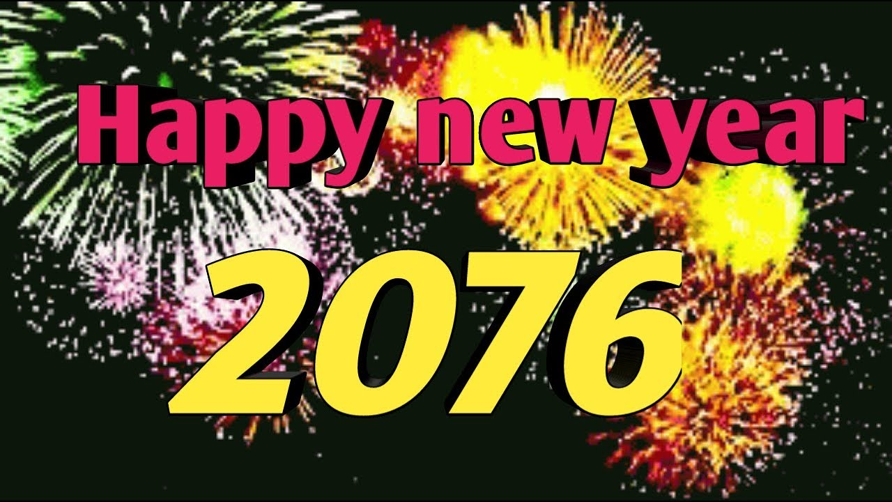 Happy new year 2076 image