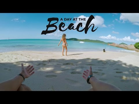 GoPro: A Day At The Beach #VlogLife 5