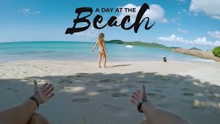 gopro a day at the beach vloglife 5