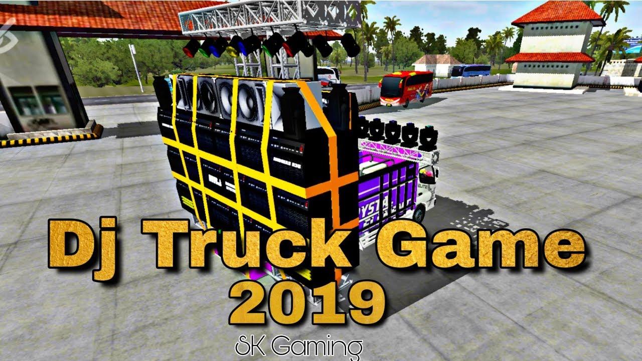 Bus Simulator Indonesia Dj Truck Mod Dj Setup Srk Games Youtube