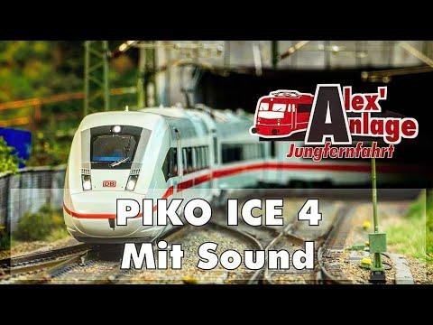 H0 Modellbahn – PIKO ICE 4 Soundcheck