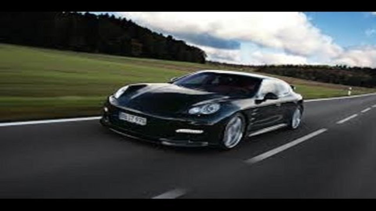 Best Sport CarsPorsche Panamera Turbo 317 km h  YouTube