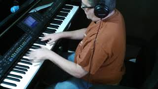 TRYING To GET THE FEELING, Barry Manilow, PIANO play along ALTERNATE TAKE version