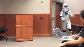 Robots Invade College Lecture