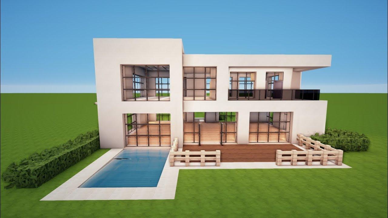Minecraft Großes Haus  Startseite Design Bilder
