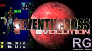Seventh Cross Evolution - Sega Dreamcast - Intro & gameplay including first boss [HD 1080p 60fps]