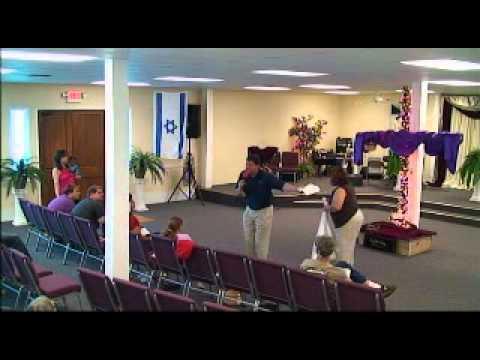 "Evangelist Chad McGriff preaches fiery message ""PRESS ON"" Phil 3:12 Pt2"