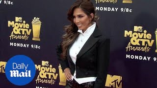 Farrah Abraham arrives in magician suit to the MTV Movie Awards - Daily Mail