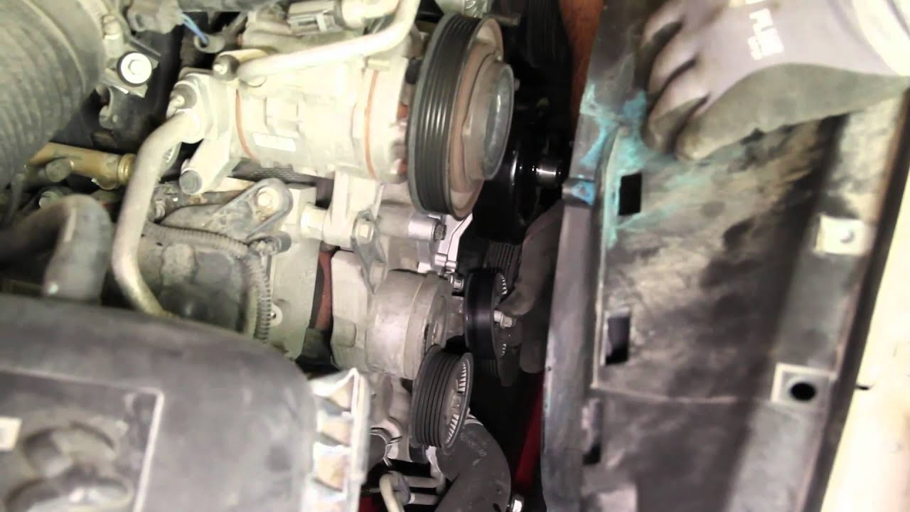 small resolution of how to install a water pump dodge 4 7l wp 9240 aw7163 youtube 2006 dodge stratus serpentine belt diagram 2006 dodge 47l belt diagram