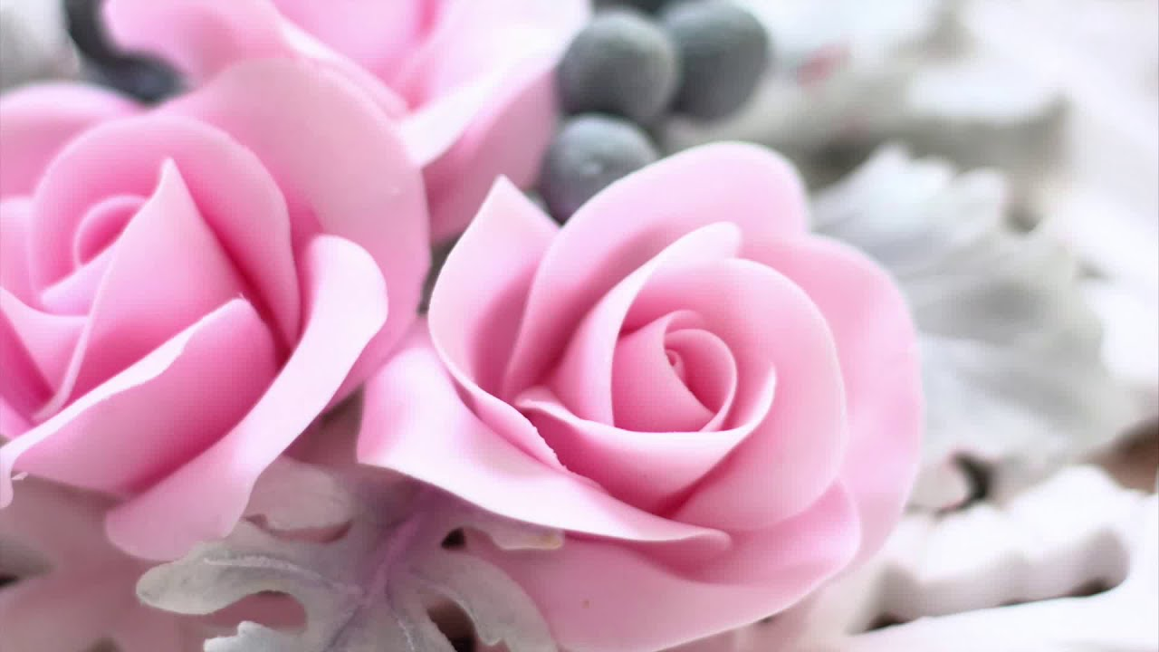 Comment faire une rose en p te sucre youtube - Comment faire secher des roses ...