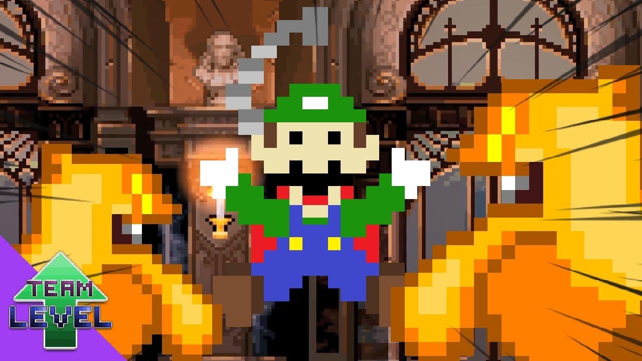 Luigi's Mansion 2D (Animation)