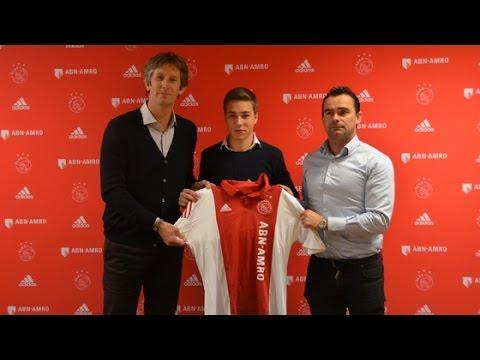 Ajax legt A1-talent drie jaar vast