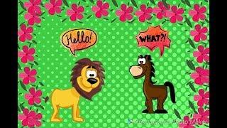 Звуки животных Звуковая песня для самых маленьких О 0  до 3 лет Песни для детей. Песни о животных