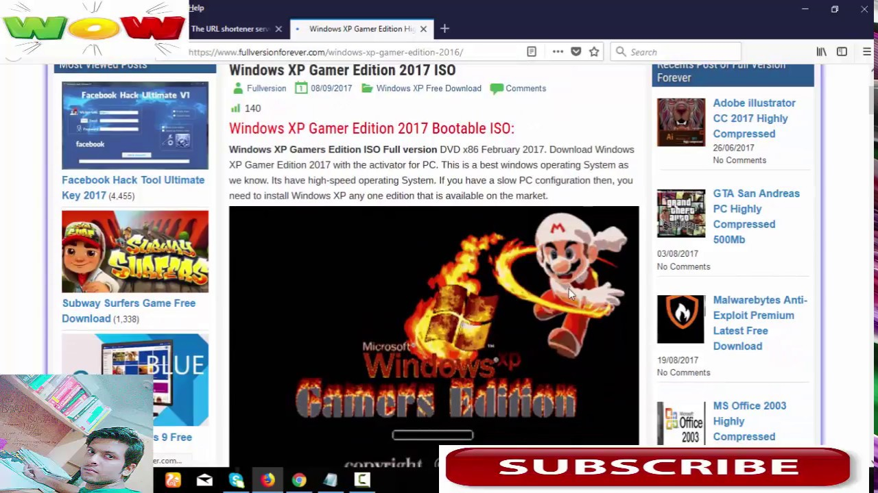 Windows xp pro sp3 gamers edition dvd (2012) | beauty box video.