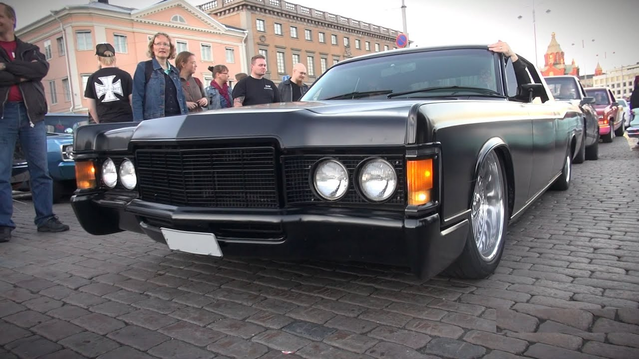 American Gangsta Custom Matte Black Lincoln Continental 7 5l V8