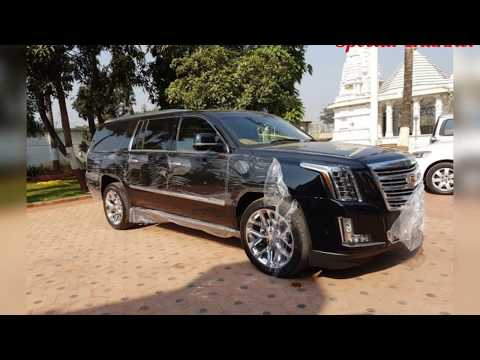 America President Cadillac Vehiclein India - First Owner in World