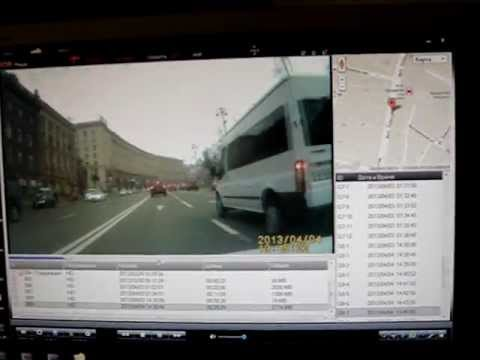 Трекинг видео VR 36 Cayman на google map
