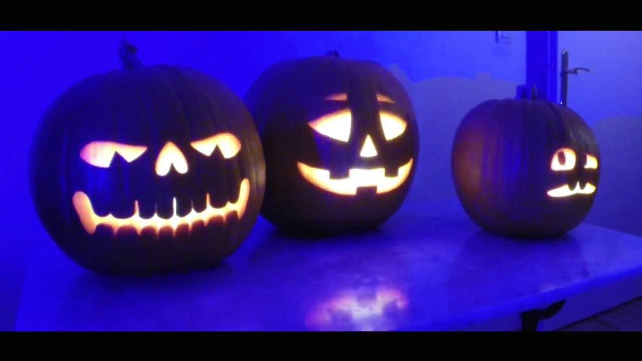 Halloween Pumpkins Singing Jack'O Lantern -Jamboree (Projection ...