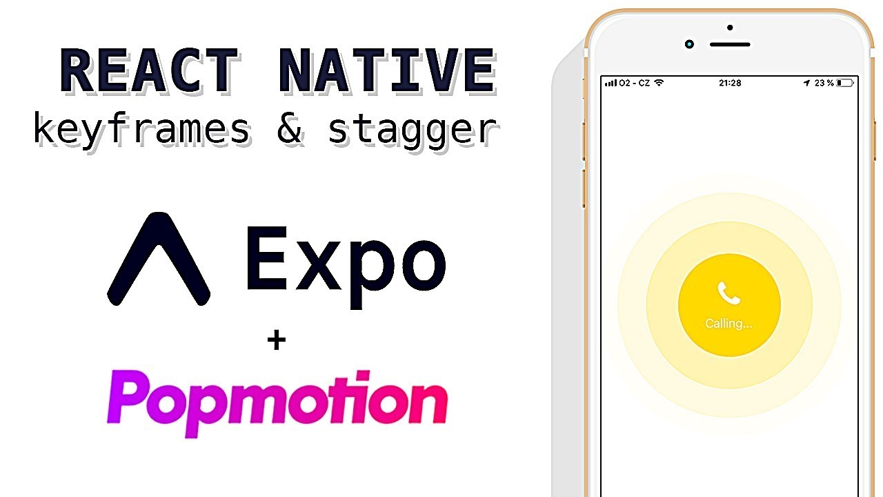 How To Animate React Native Elements With Popmotion Keyframes Stagger Youtube
