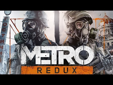 METRO 2033 Redux (PS4) - First 60 Minutes Gameplay @ 1080p HD ✔