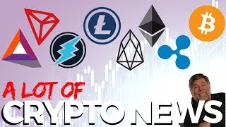 ETH, BAT, LTC, BTC, TRX, XRP, ETN, EOS - Crypto News