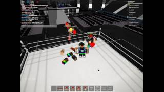 Roblox: wwe /funny moments/rp
