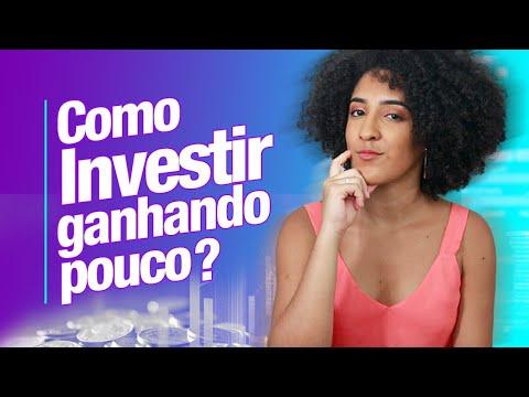 COMO INVESTIR GANHANDO POUCO? | NATH FINANÇAS