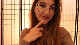 ASMR Glasses Try-On Haul! Help me choose!? (Soft Spoken w/ Lens Tapping)