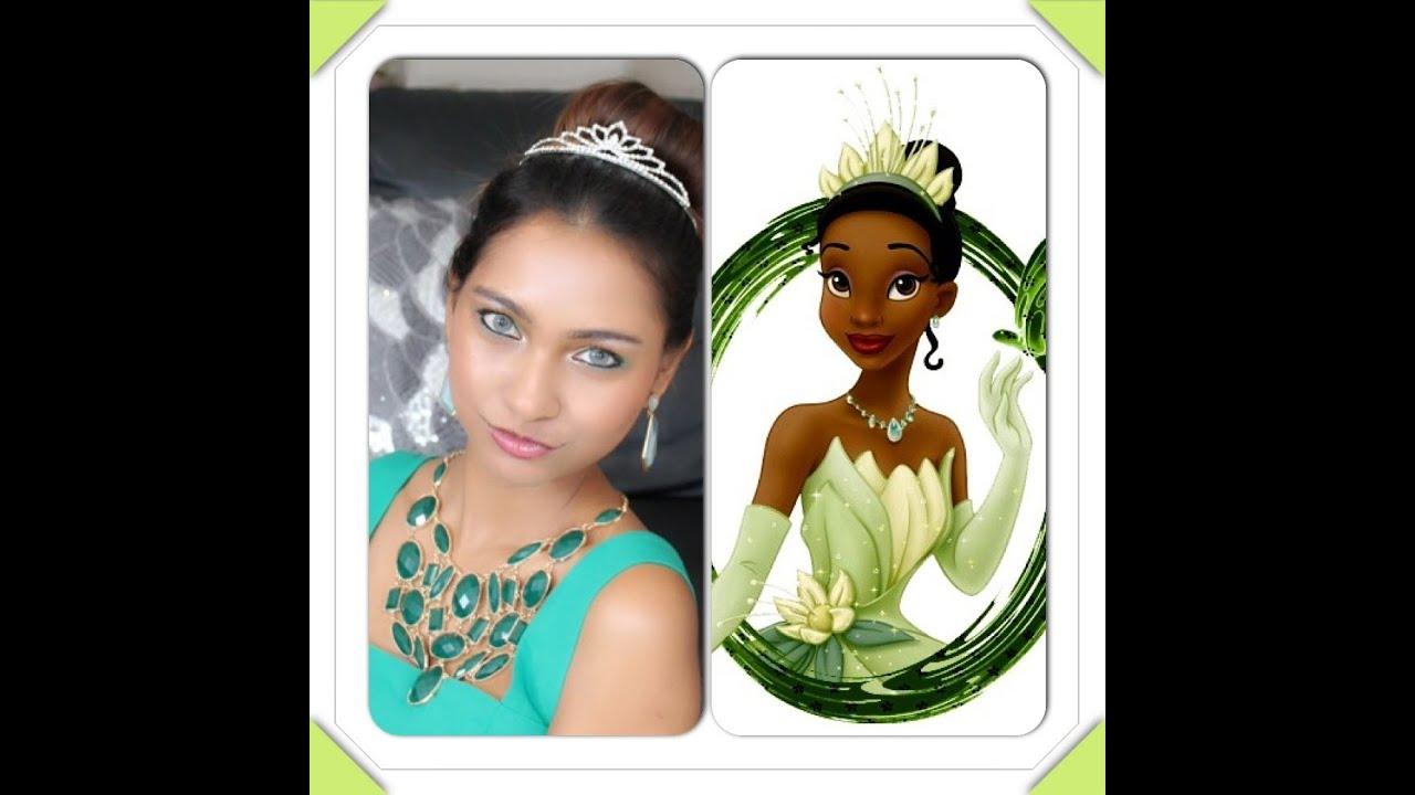 Princess Tiana Makeup: Halloween Makeup Tutorial : Princess Tiana Inspired Look