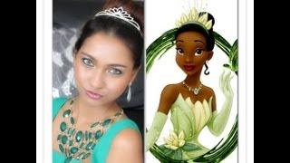 Halloween makeup tutorial : Princess Tiana inspired look Thumbnail
