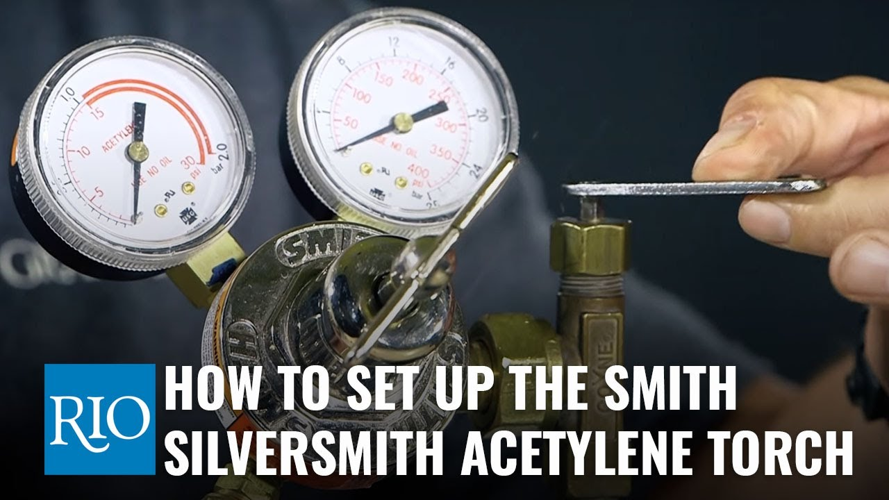 How to Set-up the Smith SilverSmith Acetylene Torch