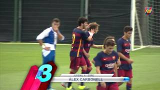 FCB Masia: Top 5 goals (12-13 sept)