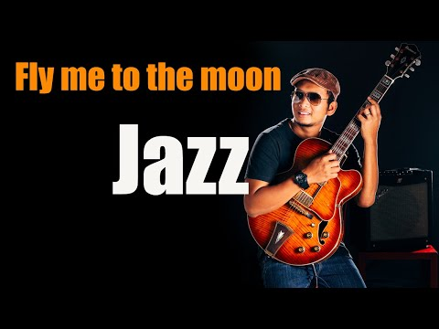 Fly Me To The Moon (Solo Guitar Ibanez AF95 )
