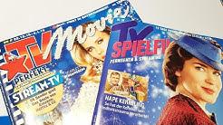 Weihnachtsausgabe. TV SPIELFILM gegen TV MOVIE