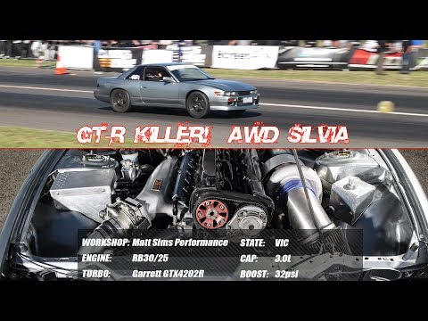 GT-R Killer! All-wheel-drive S13 Silvia