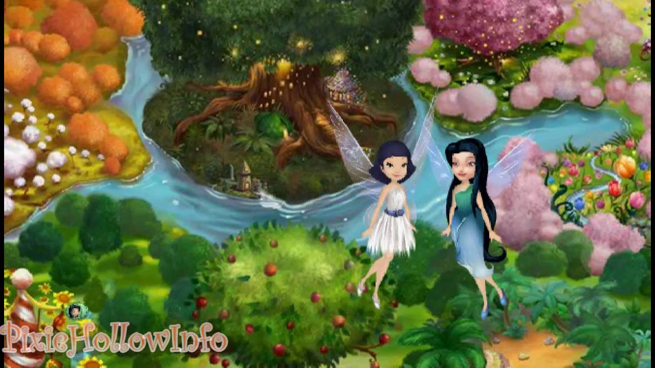Pixie Hollow: Creating Your Fairy - YouTube