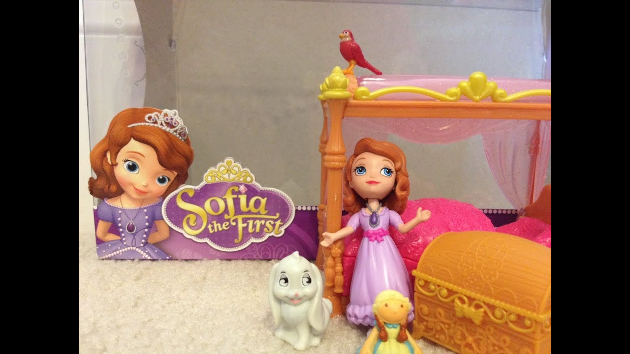 Sofia The First Disney Junior Sofia S Royal Bed Playset