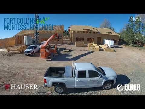 Fort Collins Montessori School timelapse April18 May14