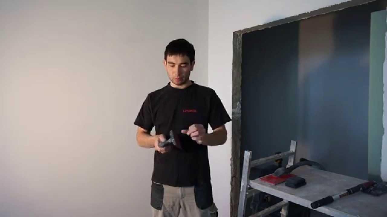 Чем мы шлифуем шпаклевку, инструменты для шлифовки.