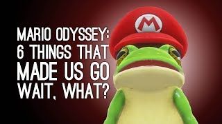 Mario Odyssey Gameplay: 6 Things in Mario Odyssey That Made us go Wait, What?