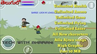 Unlimited hack on Mini Militia Download apk with just one click only on TWB Tech With Bharani telugu